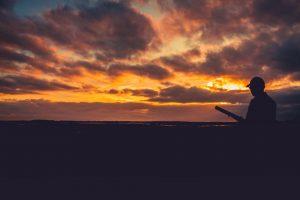Shooter on dusk